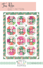 Load image into Gallery viewer, Tea Rose PAPER Quilt Pattern
