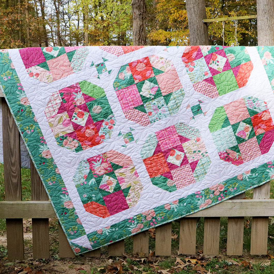 Tea Rose PDF Quilt Pattern