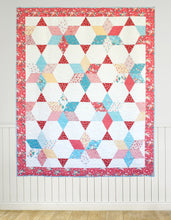 Load image into Gallery viewer, Vintage Stars PAPER Quilt Pattern