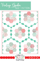Vintage Garden PDF Quilt Pattern DOWNLOAD