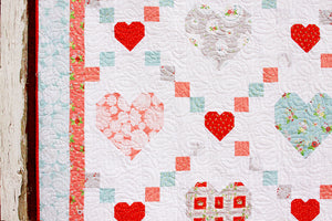 Hearts and Kisses PDF Download Quilt Pattern