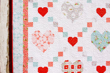 Load image into Gallery viewer, Hearts and Kisses PAPER Quilt Pattern