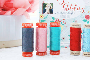 Vintage Stitching Thread and Floss Collection