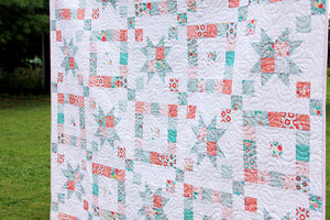 Windows to the Garden PDF Quilt Pattern DOWNLOAD