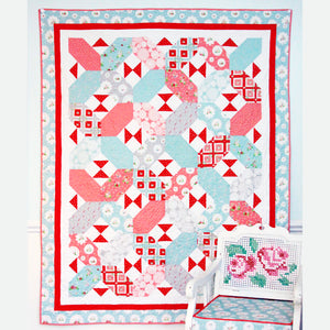 X's and Bows PDF Download Quilt Pattern