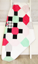Soda Fountain Quilt PDF Pattern DOWNLOAD