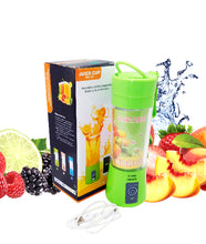 Load image into Gallery viewer, Portable USB Electric Juicer, Blender Drink Bottle,380Ml Juicer Cup With 2000 Mah Power