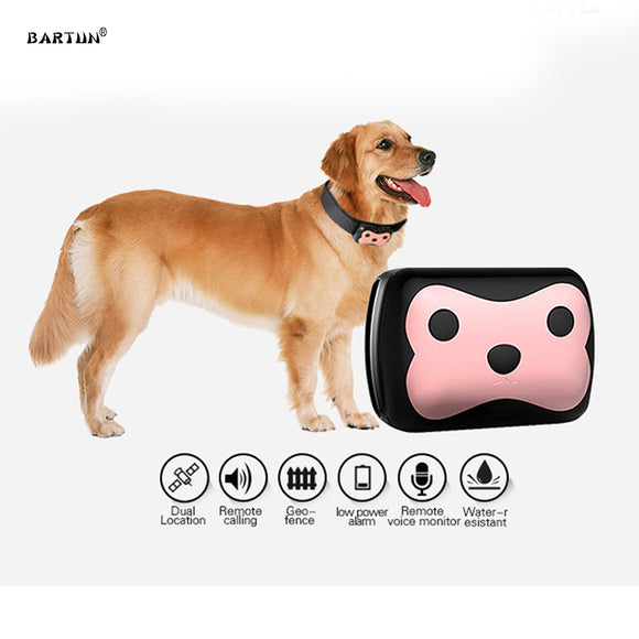 MiNi GPS Dog Tracking Collar