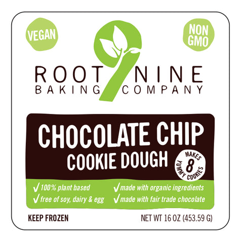 Root9 Bake at Home Vegan Plant Based Chocolate Chip Cookies