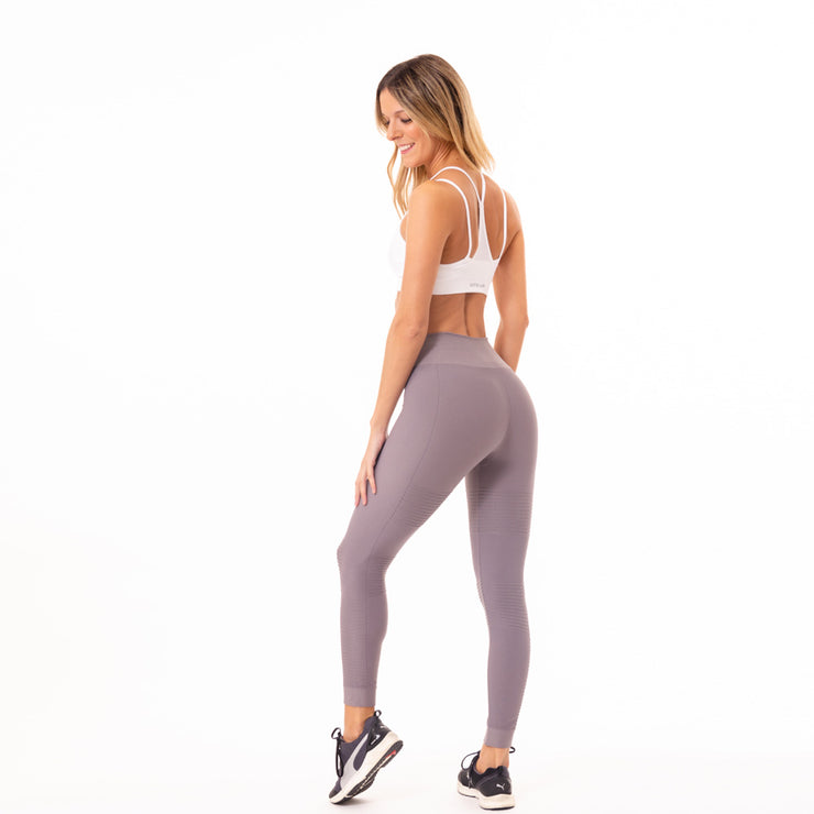 Leggings ShineRib Gray