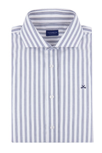 Camisa Oxford Rayas Anchas