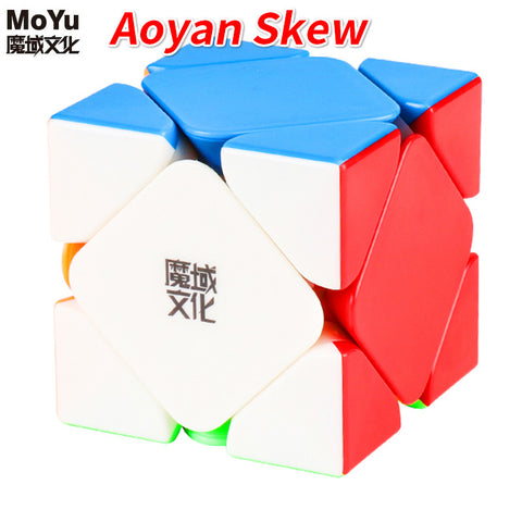Moyu Aoyan Skewb Magnetic Stickerless