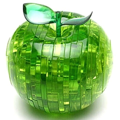 Apple Shape Puzzle green