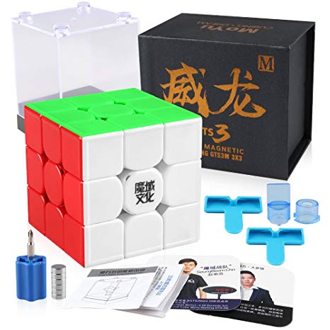 MoYu Weilong GTS3M Magnetic 3x3x3 Stickerless