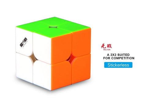 QiYi WuXia 2x2 magnetic stickerless