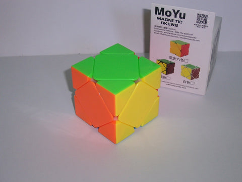 MoYu Magnetic Skewb Stickerless