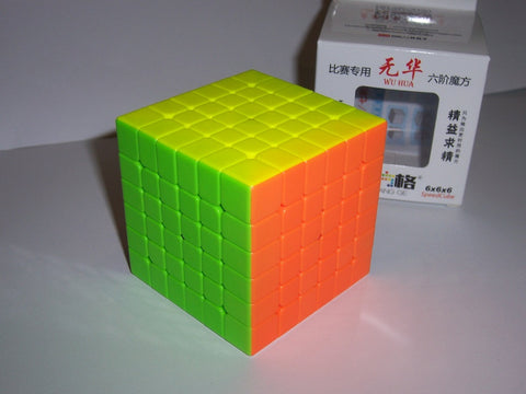 QiYi WuHua 6x6x6 Stickerless