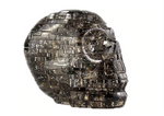 3D Crystal Puzzle Skull Skeleton gray
