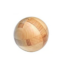 Wooden Puzzle: ball