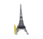 1 Set LED Flash Eiffel Tower 3D Crystal Puzzle