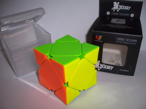 X-Man Wingy Magnetic Skewb Stickerless (Concave)
