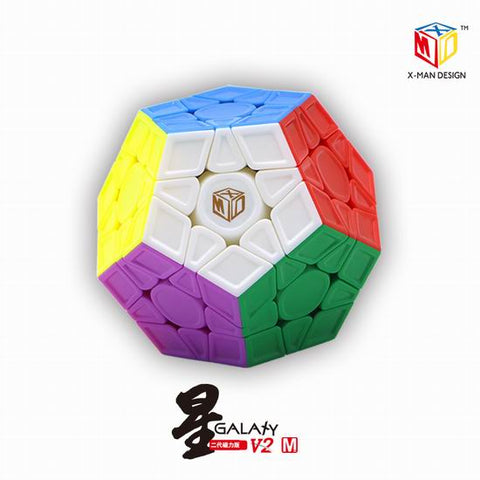 X-man Galaxy V2 Megaminx Magnetic Stickerless