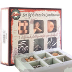 6pcs/set Puzzle bundle