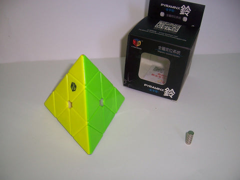 X-Man Bell Magnetic Pyraminx Stickerless