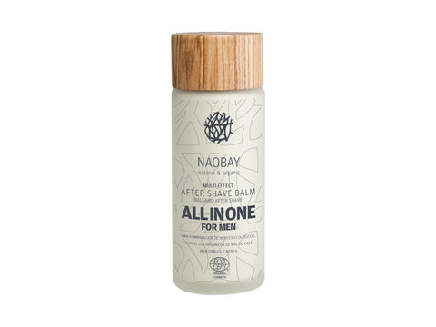 BÁLSAMO AFTER SHAVE ALL IN ONE NAOBAY - Multi Effect After Shave All in One for Men