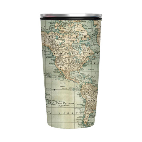 Slide Cup ANTIQUE MAP