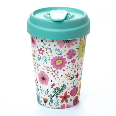 Vaso PRAIRIE FLOWERS BambooCup - Chic Mic