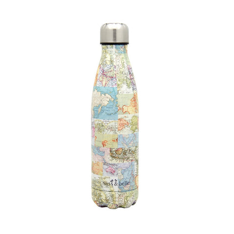 Botella Térmica VINTAGE MAP - Sass and Belle