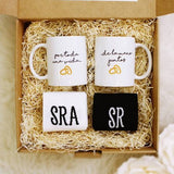 "KIT ""SOIS LOS SIGUIENTES"" TAZAS + CALCETINES - Be Love"