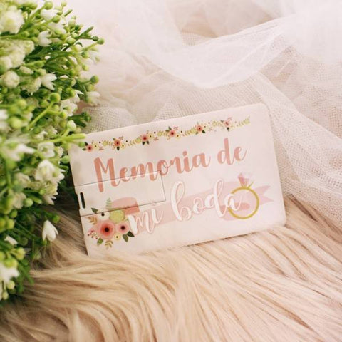 "USB ""MEMORIA DE MI BODA"" - Be Love"