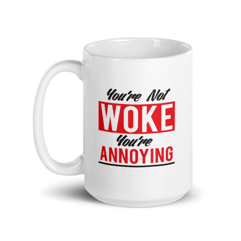 Woke Up This Way Mug