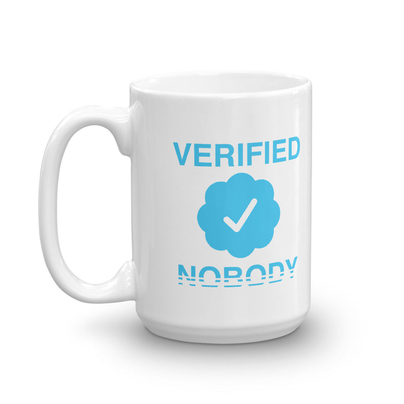 Verified Nobody Mug
