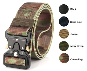 Tactical Nylon Belt (Military Grade)