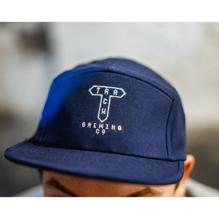 Five Panel Cap With Embroidered Logo
