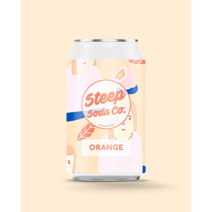 Steep Soda - Orange