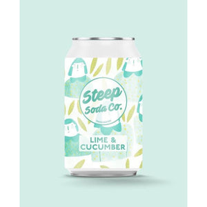 Steep Soda - Lime & Cucumber