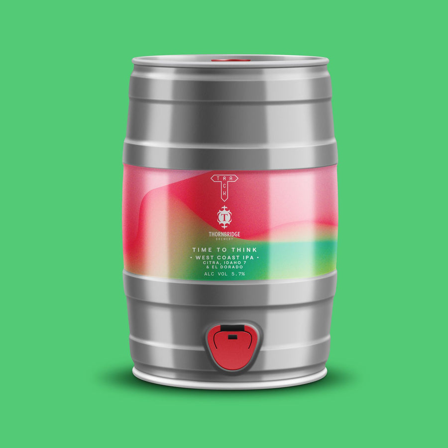 Time To Think | West Coast IPA | 5.7% | 5L Mini Cask