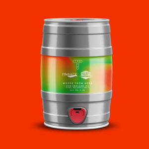 Where From Here | New England IPA | 6.0% | 5L Mini Cask