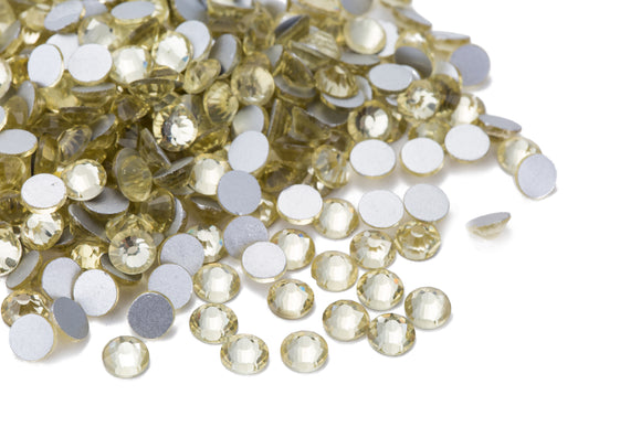 1440 pcs Crystal Light Gold / Jonquil Satin #213SAT