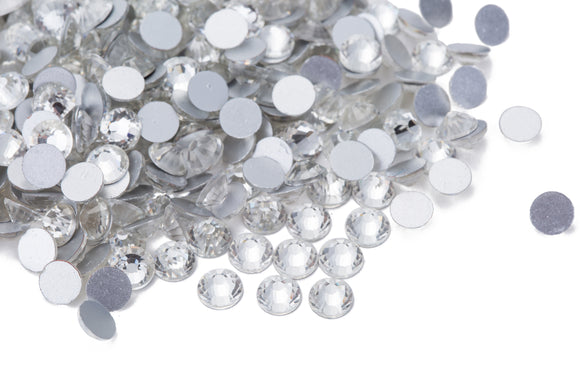 140 pcs Crystal Clear / Clear #001
