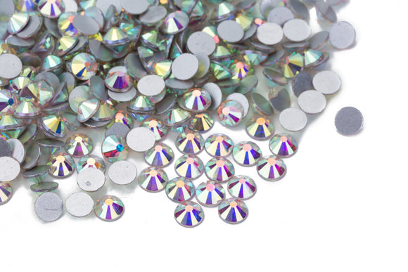 140 pcs Crystal AB Color / Aurore Boreale #0001AB