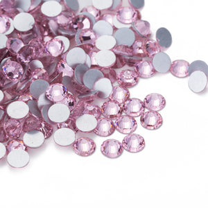 70 pcs Crystal Light Pink / Light Rose #223