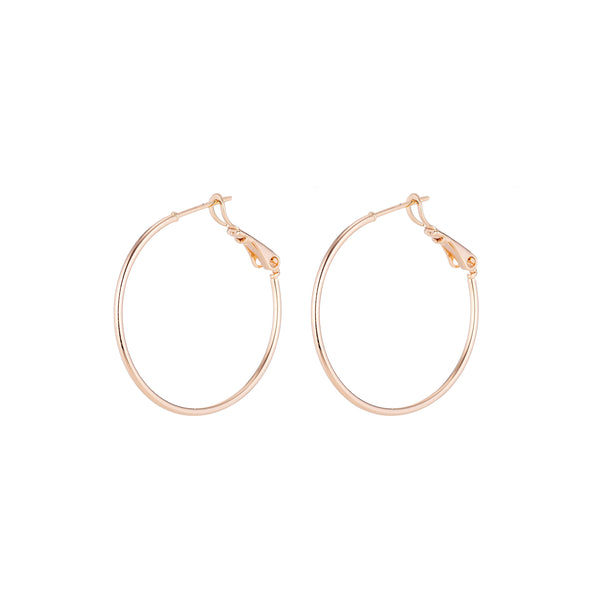 Gold Plated Hoop Earrings. lightweight Hoops thin Hoops. Flat Hoops, Modern Earrings Classic Hoop Earrings. Everyday Hoops