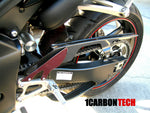 CARBON FIBER CHAIN GUARD 04-06 YAMAHA YZF R1