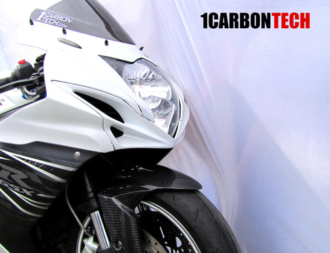 CARBON FIBER D. BUBBLE WINDSCREEN / WINDSHIELD GSXR 600 / 750 2011 - 2019