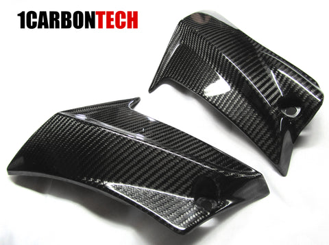 CARBON FIBER MID SIDE TRIMS GSXR 600 / 750 2011 - 2019